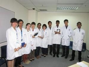 jas lab sekolah