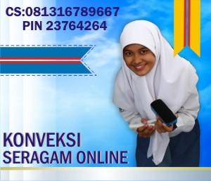Konveksi Seragam Sekolah SD SMP SMA Online