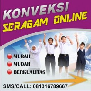 Konveksi Seragam Sekolah Online SD SMP SMA Murah Bandung